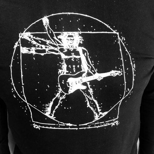T-shirt Da Vinci print