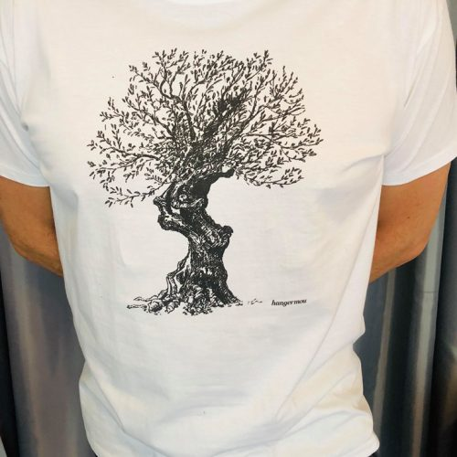 T-shirt olive Tree of Life