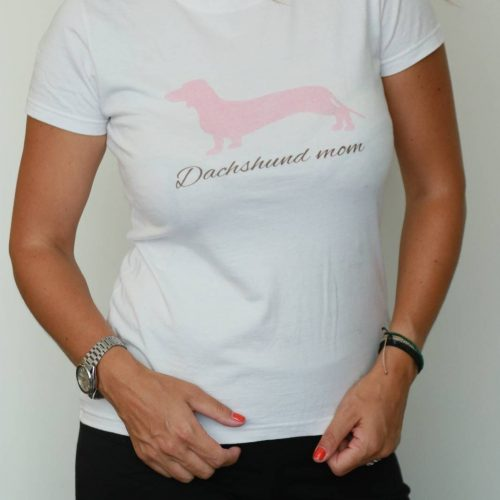 T-shirt hot dog light pink