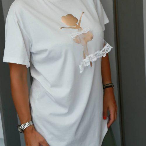 T-shirt χειροποίητο ballarina