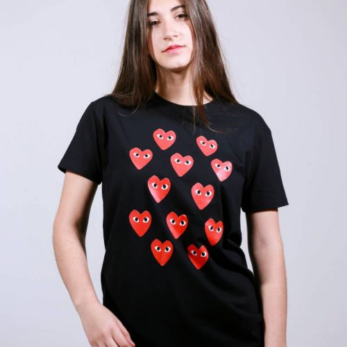 T-shirt  hearts everywhere