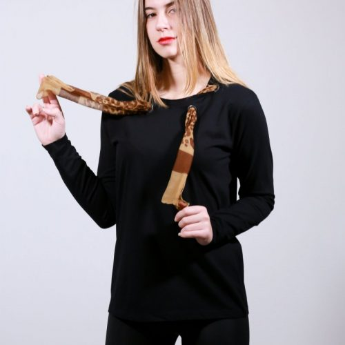 T-shirt  smart way craft(φουλάρι)