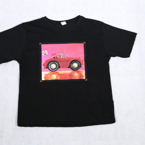 T-shirt kids cabrio&dog