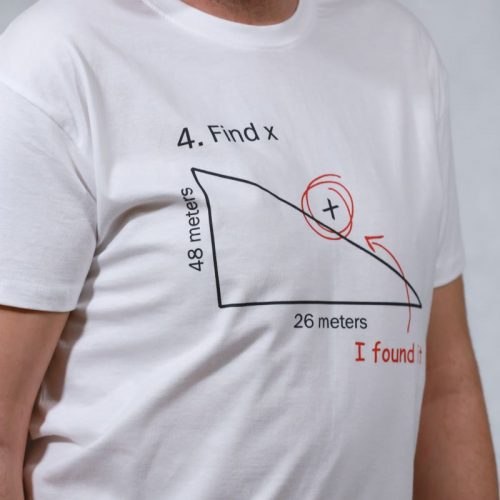 T-shirt Trigonometry man