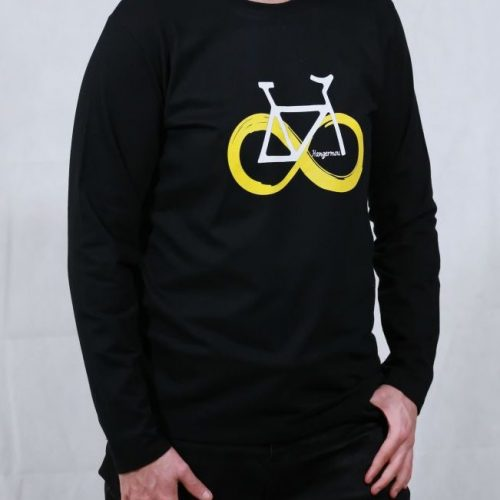 T-shirt Yellow Bike