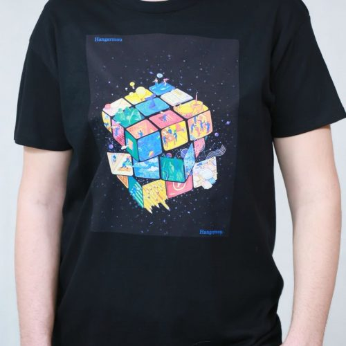 T-shirt  cube Puzzling