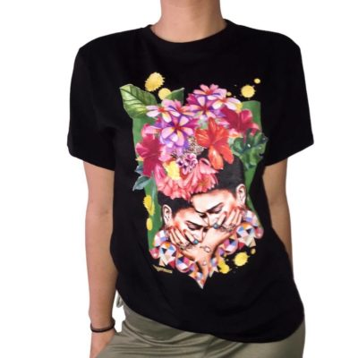 T-shirt Frida twice