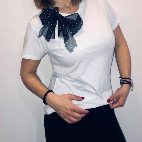 T-shirt Tulip bow