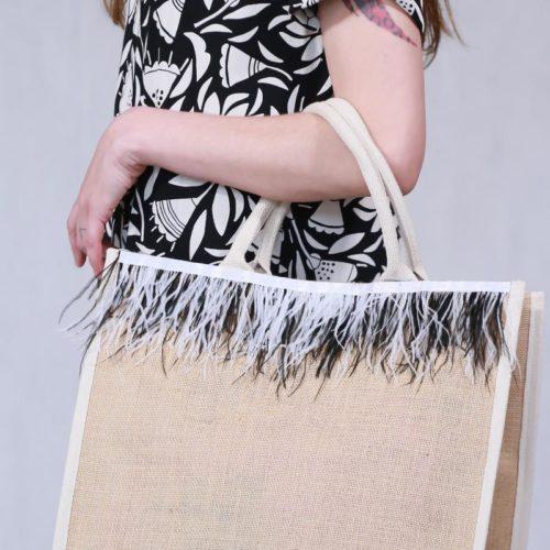 Τσάντα αγοράς και Παραλίας