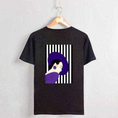Woman in her purple  #2021.1