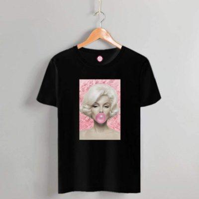 T-shirt Marilyn black 2021.11