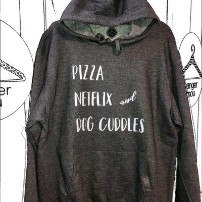T-shirt  dog cuddles 2021.23