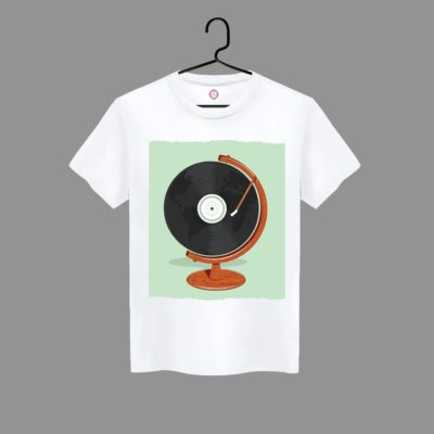 T-shirt Record Disc player #2021.44