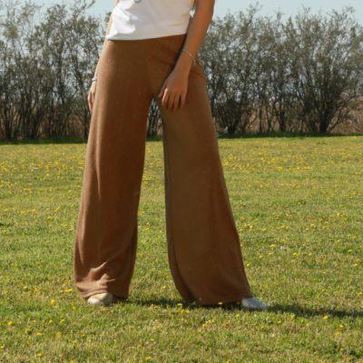 Χρυσή παντελόνα Lurex #2021.80