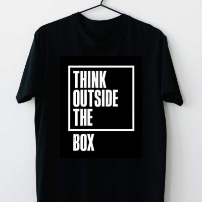 T-shirt Think outside the box #2021.90