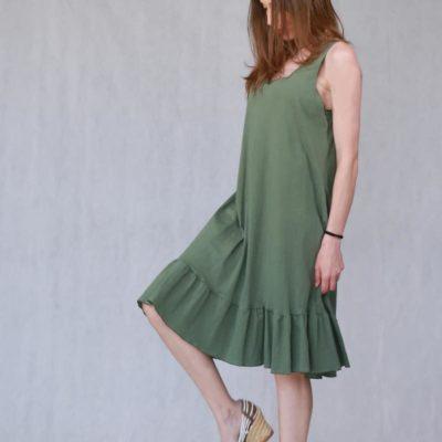 comfy volan dress #2021.126