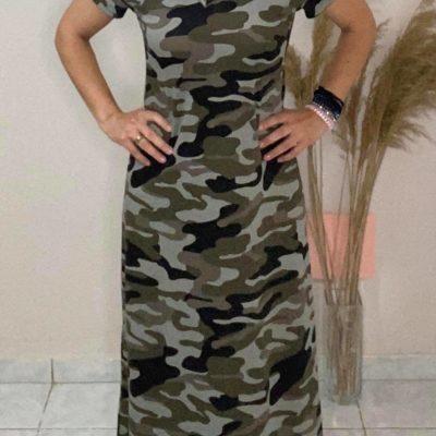 Camo dress #2021.110