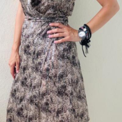 krouaze dress satin leopar #2021.124