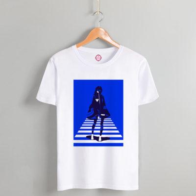 T-shirt blue way
