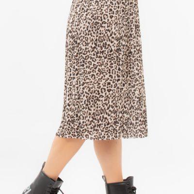 Φούστα πλισέ Leopard