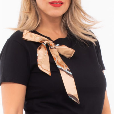 T-shirt chic bow
